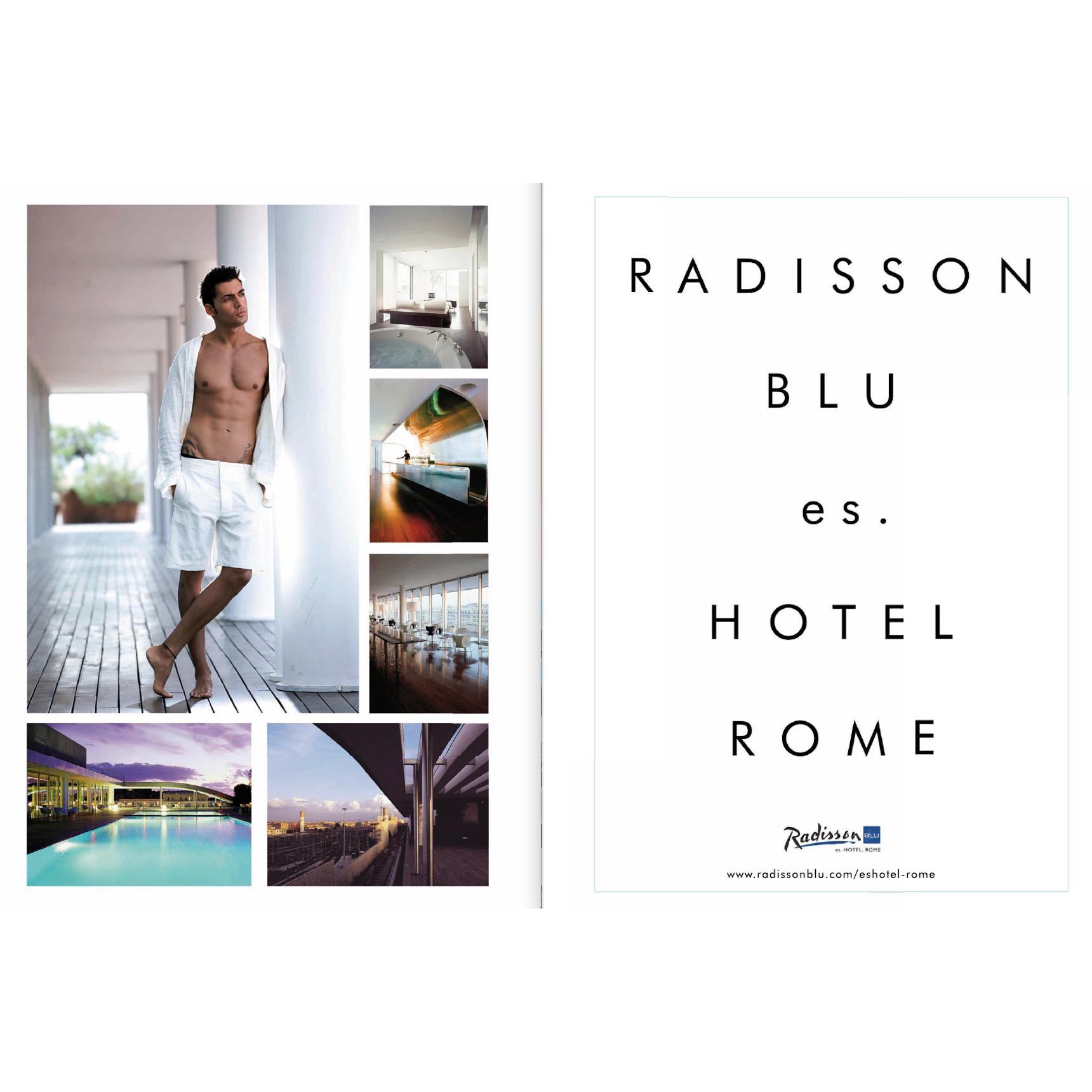 Radisson Blu Hotel Roma Ads